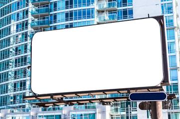 Werbetafel Modern Futuristisch