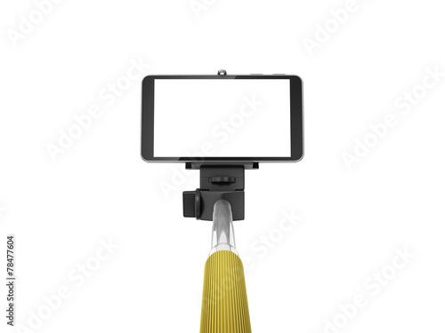 selfie monopod stick - 78477604