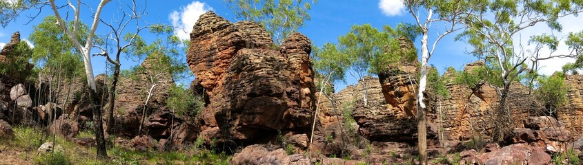 Lost city at Limmen National Park, Nothern Territory, Australia