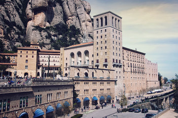Benedictine abbey, Virgin of Montserrat sanctuary