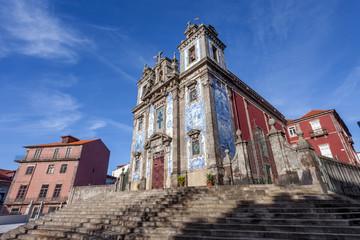 Santo Ildefonso Church in the city of Porto, Portugal