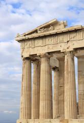 Columns of Parthenon at Acropolis