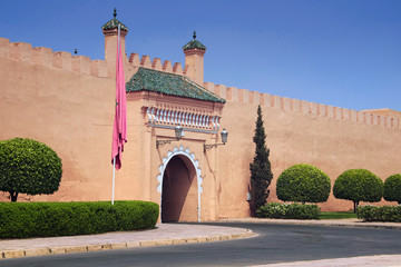 Royal Palace in Marrakesh, Morocco