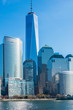 Leinwanddruck Bild - Panorama of downtown Manhattan