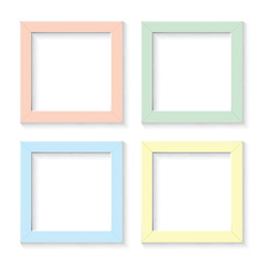 white frame set