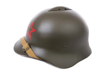 military helmet of the Soviet Army