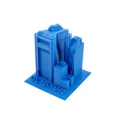 3D Printed Model Of Skyscrapers