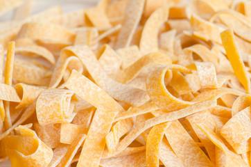 raw dried  pasta