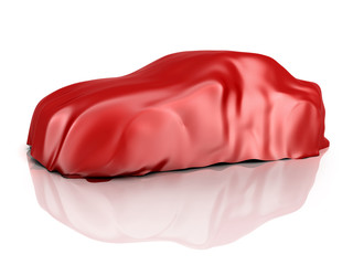 Car covered cloth