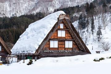 Shirakawago in Japan im Winter