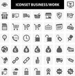 Iconset Business Work