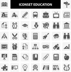 Iconset Education