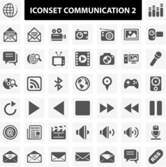 Iconset Communication 2
