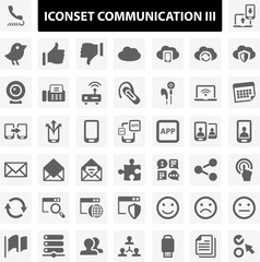 Iconset Communication 3