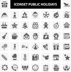Iconset Public Holidays