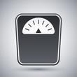 Vector bathroom scales icon - 78485241