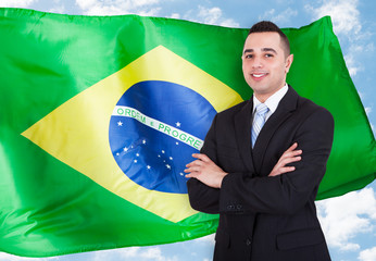 Portrait Of Brazilian Businessman
