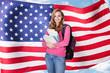 American Female Student