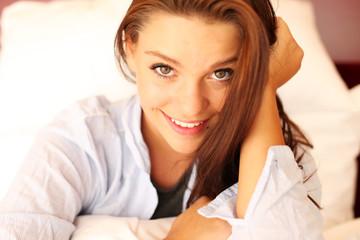 Portrait einer glücklichen Frau