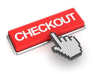 Clicking a checkout button