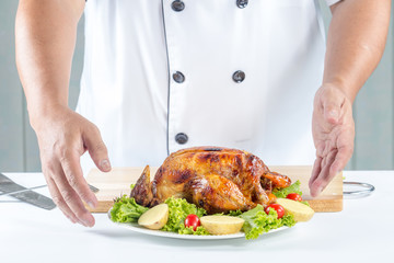 roat chicken