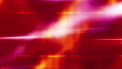 Animated Orange and Red Abstract Looping Background