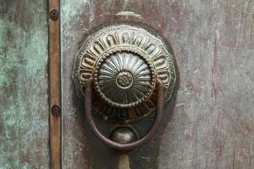 Bronze door's knocker