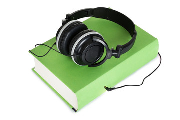 Headphone And Book