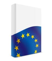 EU book cover flag white
