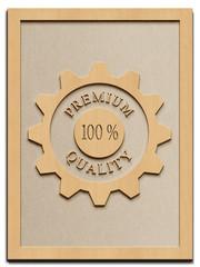 Premium Quality - Rahmen Holz - H