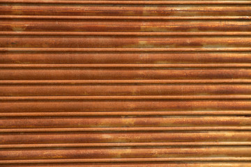 Texture of a rusty shade
