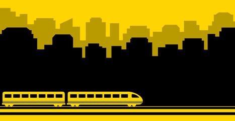 railway transport background