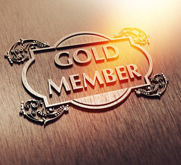 Gold Member - Metall - Flare