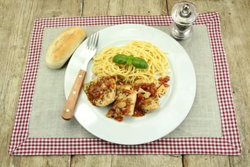 filet de poulet à la provençale