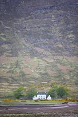 House by Loch, Applecross, Highlands, Scotland