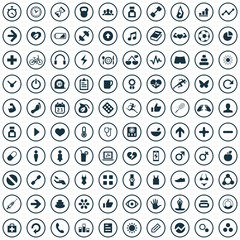 100 fitness icons