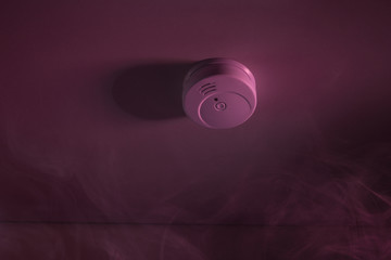 Smoke Around Fire Sensor