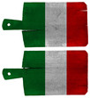 Cutting Boards with Italian Flag
