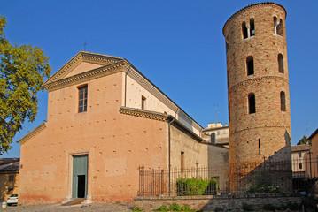 Santa Maria Maggiore basilica with the bell tower