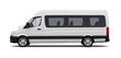 White minibus - side view - 78494009