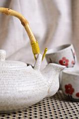 Ceramic set for tea ceremony