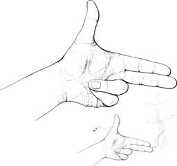 fingers shoot