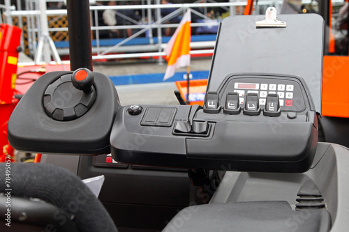 Forklift dashboard