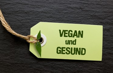 Vegan und gesund