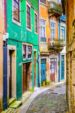 Alleyway in Porto, Portugal
