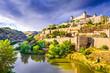 Toledo, Spain old town skyline