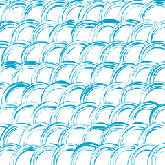 Abstract wave colorful pattern