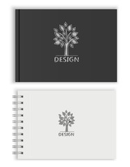 Sketchbook. Vector