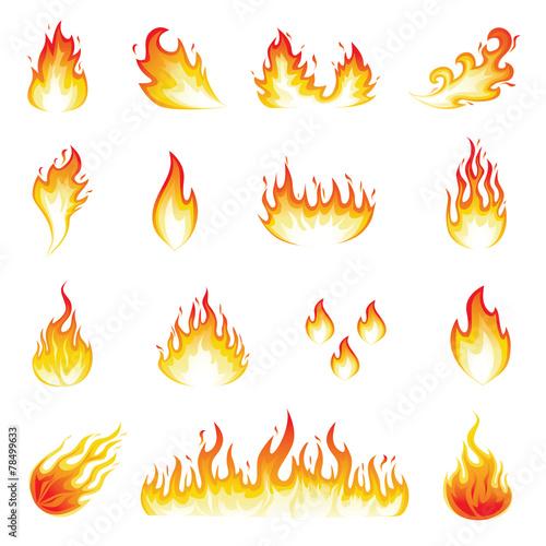 Zdjęcia na płótnie, fototapety, obrazy : Fire Flames