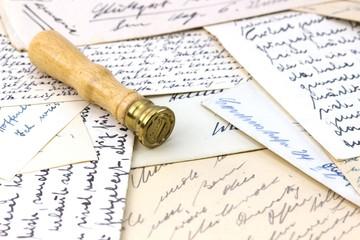 Briefe, Erinnerung, Post, Nostalgie